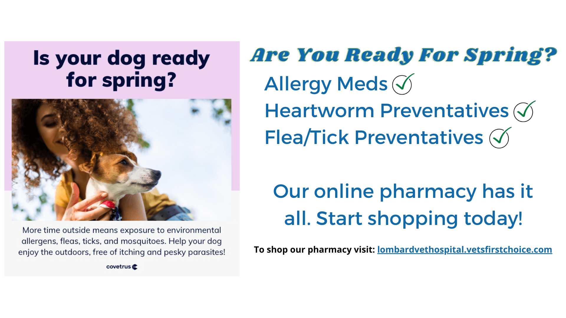 Online Pharmacy March Week 1 Promo